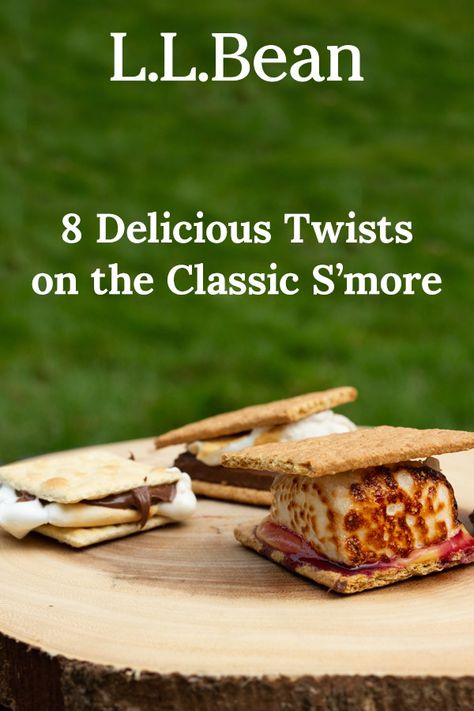 From the classic campfire treat to our restaurant-worthy lemon curd and blueberry s'more, we have more recipes, more hacks and more unexpected flavors for you to try! Get Roasting!