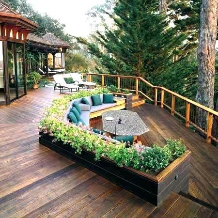 Deck Designs Pictures Ideas Deck Garden Ideas Floating Deck Garden