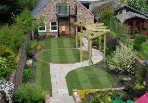 Long Narrow Garden Design Pictures And Long Garden Design Landscaping And Ga Des In 2020 Small Garden Landscape Garden Landscape Design Contemporary Garden Design