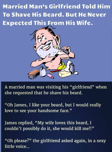Married Man's Girlfriend Told Him to shave His Beard  But He