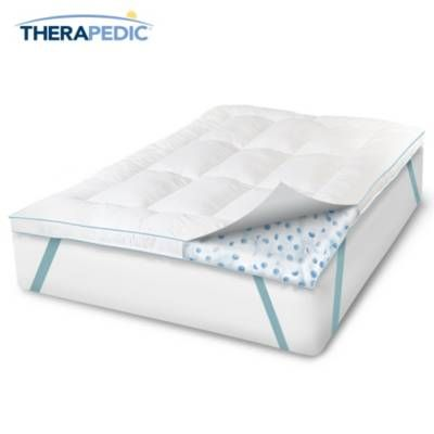 Therapedic Memoryloft Eurogel Deluxe Bed Topper Bed Topper
