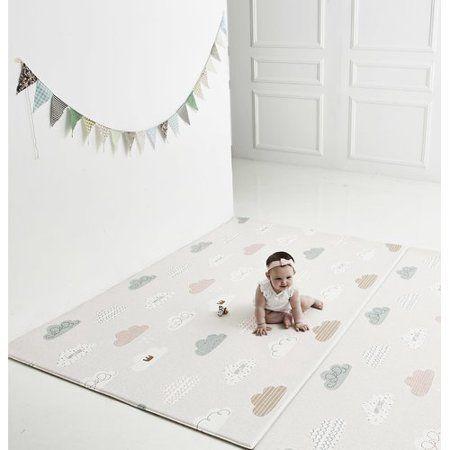 Parklon Spot Cloud Bebe Pure Soft Floor Mat Walmart Com Soft Floor Mat Soft Flooring Baby Play Areas