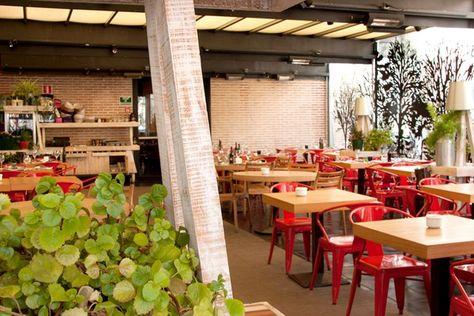 Mercado De San Antón Chueca Terraza Madrid Restaurante