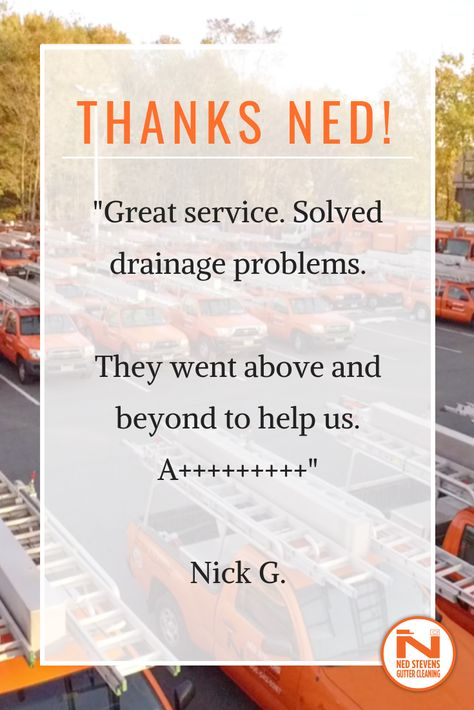 Happy We Could Help Cleaning Gutters Gutter Cleaning