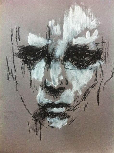 Guy Denning, 1965 ~ Figurative/Abstract painter | Tutt'Art@ | Pittura * Scultura * Poesia * Musica | #portraiture #portraitpainting