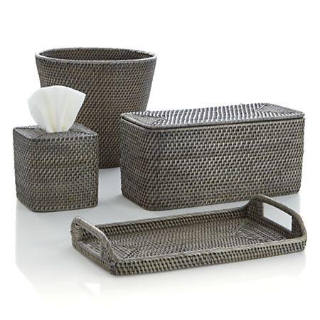 Sedona Grey Bath Accessories Crate And Barrel Bath Accessories Crate Barrel Grey Baths