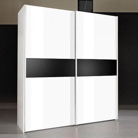 Kleiderschrank Elsbeth II Weiße Möbel Pinterest - schwarz weiß wohnzimmer