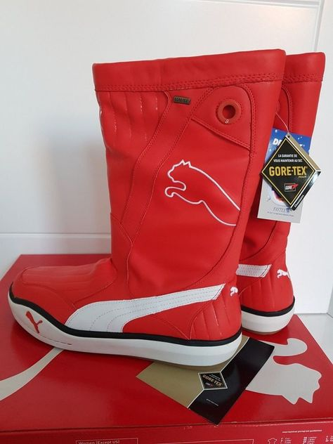 9a1d1d99a7e PUMA LUFF GORE-TEX GTX Boots Sailing Volvo Ocean Race Boating Yachting NEW  UK 11
