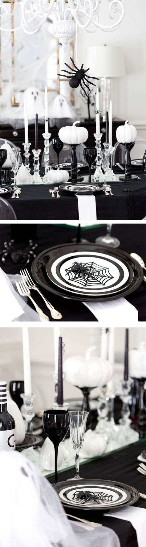 Tips and ideas for throwing a Spooky Halloween Dinner Party! Bookmark this one…