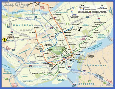 Montreal Subway Map Printable.Pinterest