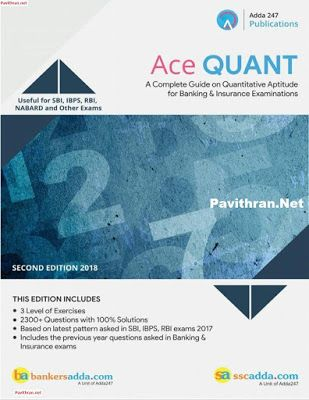 Adda247 Ace Quantitative Aptitude Paid Book Download PDF | Pavithran