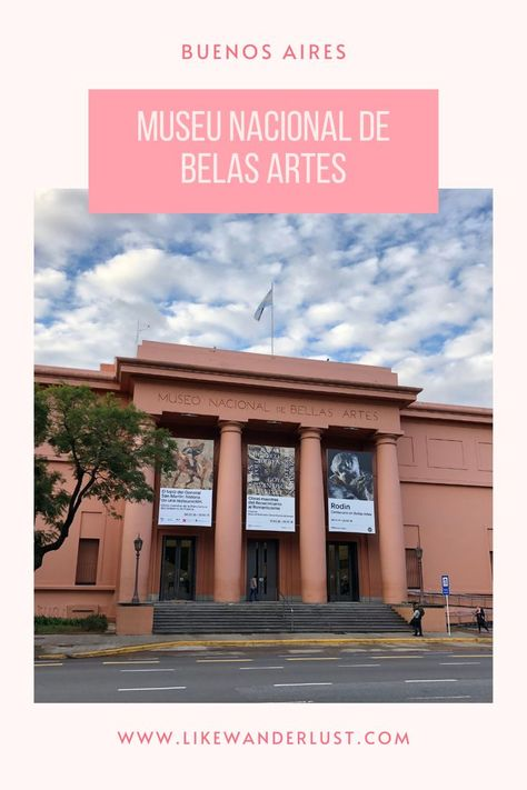O Museu Nacional de Belas Artes de Buenos Airesé um dos mais importantes da América Latina. Clique aqui e saiba mais sobre ele. #BuenosAires #Argentina