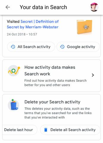 Google search history: how to view and delete your data - TapSmart | Google  activities, Google, Data