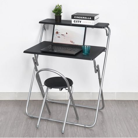 Collapsible Desk Chair Design Desk Ideas Check More At Http Samopovar Com Collapsible Desk Chair Best Ergono Fold Up Desk Desk Chair Diy Desk And Chair Set