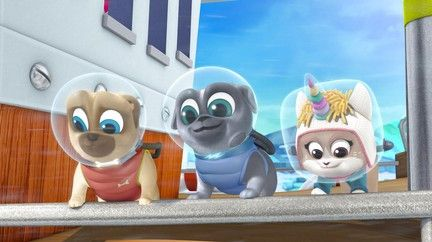 A New Pup In Town The Last Pup Icorn Disney Junior Dogs And