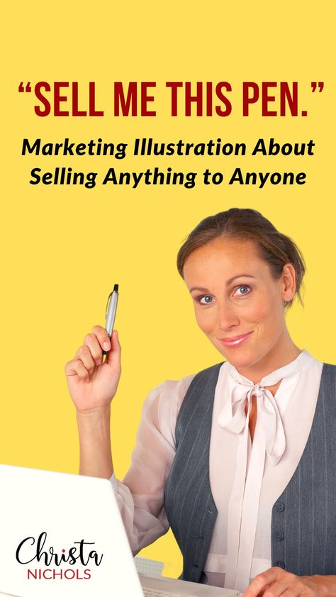 How to Sell Anything to Anyone Marketing Illustration | Knowing Your Offer before Writing Sales Copy