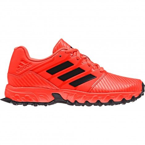 adidas Hockey Lux hockeyschoenen junior solar red core black ...