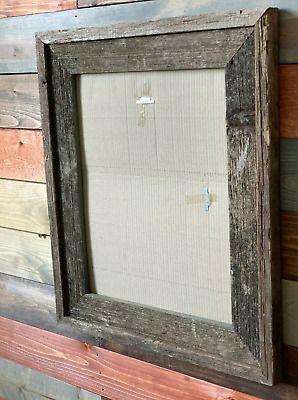 2 11x14 Rustic Wood Picture Frame Barnwood Frame Flint River Edition Fashion Home Garden Homedcor Frames Ebay Link In 2020 Barn Wood Frames