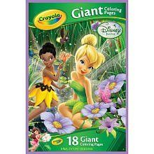 Crayola Giant Color Pages Disney Fairies By Crayola 5 75 The Crayola Giant Color Pages Disney Fairies Lets Kids Disney Fairies Disney Disney Activities