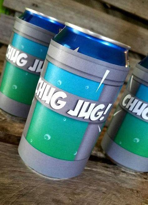 graphic regarding Chug Jug Printable named Jug Can Wrap, Printable Report Fortnite birthday guidelines inside of