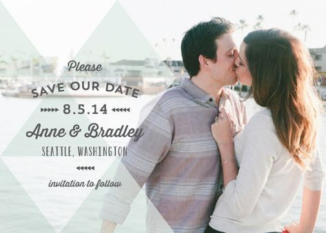 save the date cards - Overlay