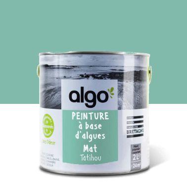 Peinture bio-sourcée à base d'huile végétale,