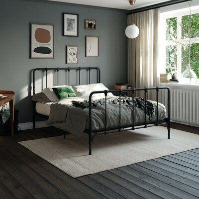 Bed Frame, Decor, Home, Metal Platform Bed, Adjustable Beds, Metal Beds, Bed, Bedroom Decor, Farmhouse Bedding