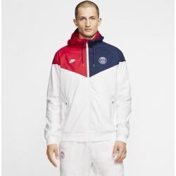 Paris Saint Germain Windrunner Herren Webjacke Weiß Nike