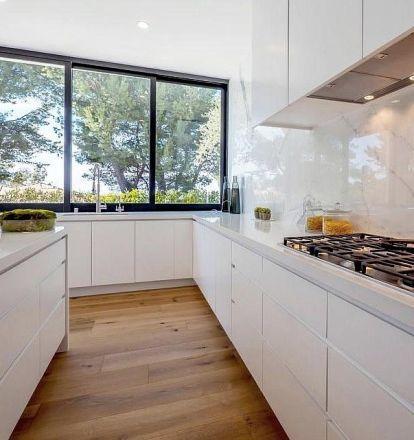 Kitchen Tile Backsplash Ideas Top 50 Pictures In 2020 Kitchen Tiles Backsplash Tile Kitchen Remodel Country Kitchen Backsplash