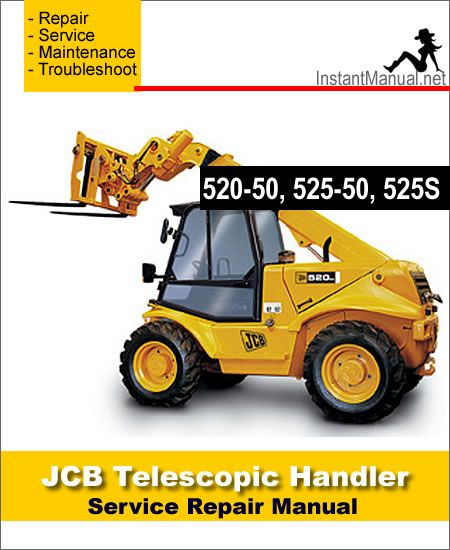 Download JCB 520-50 525-50 525S Telescopic Handler Service Repair Manual |  Repair manuals, Repair, TelescopePinterest