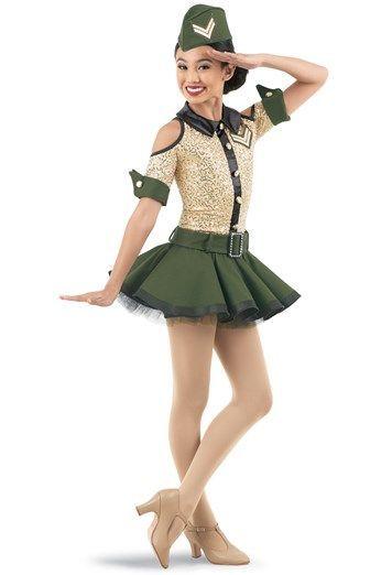 NWT Navy Metallic Gold Hologram dot Dance Costume Circle skirt child ladies size