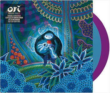 Ori And The Blind Forest Vinyl Soundtrack 2xlp Cover Art Vinyl Soundtrack