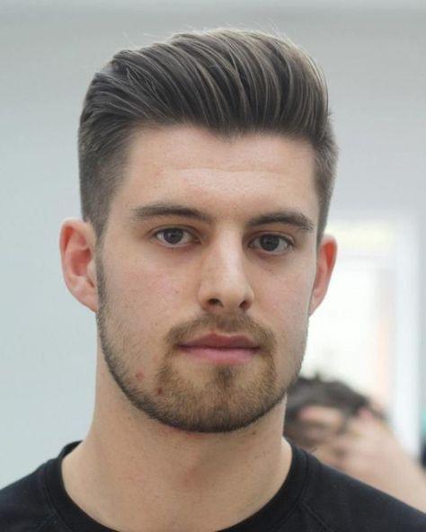 Elegant Frisuren Manner Schmales Gesicht Haarschnitt Manner