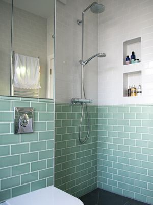 bold bathroom wall tiles | metro tiles, earth and retro