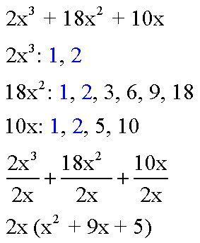 How To Factor Pre Algebra Algebra Factors