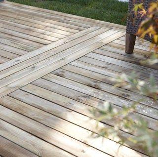 Lame Bois Pin L 24 X L 9 6 Cm X Ep 19 Mm En 2020 Caillebotis Bois Lame Terrasse Et Terasse Bois