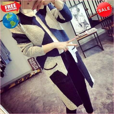 ae9cd64f42 Best Prices Knitted Cardigan Version Of Chao Zhong Long Section Spliced  Double Camouflage Crash Sweater Coat 4490903 HURASa8ZN7XCmucvEjMb Cheap Sale  ...