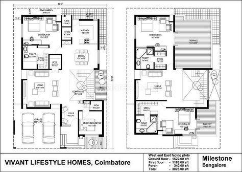 Vivant Lifestyle Homes Builders Vivant Villa Grande Photos Vivant Villa Grande Kalapatti Coimbatore Pic Duplex House Plans Model House Plan West Facing House
