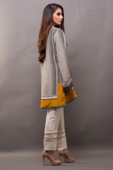 Sania Maskatiya Digitally Printed Charmeuse Shirt Five - Fabbitt