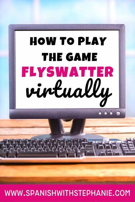 How do I play flyswatter virtually?