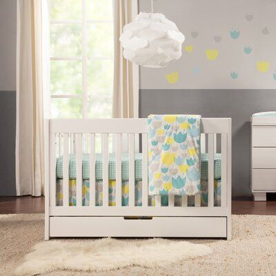 Babyletto Mercer 3 In 1 Convertible Crib And Storage Colour White