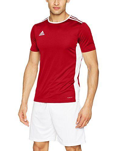 adidas Men's Soccer Entrada 18 Jersey, Power Red/White, M... https ...