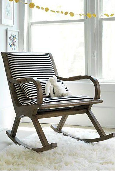 Bakersfield Rocking Chair Nursery Designs White