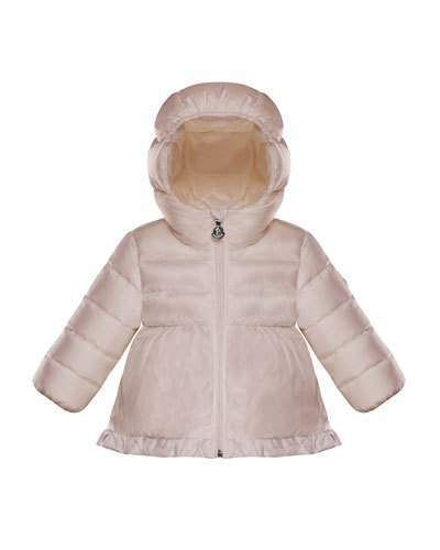 2a2f1aadc Moncler - Baby s   Little Girl s Fox Fur-Trimmed Puffer Jacket ...