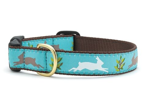 Animal World Blue /& Green Argyle Dog Collar