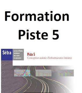 Formation Logiciel Piste 5 Pdf Pour Projet Routiers Cours Piste 5