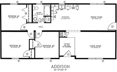 24x50 Floor Plans For House Google Search House Plans With Photos Bedroom House Plans 2 Bedroom House Plans