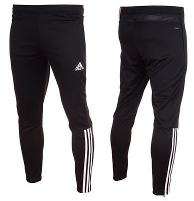 Adidas Core 18 Mens Bottoms Tracksuit Fleece Football Jogger Training Pant Black