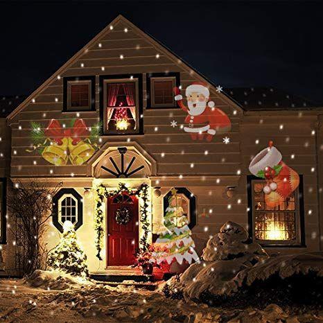 12v Led Landscape Lights In Christmas Christmas Projector