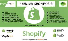seokeywordguy : I will do shopify dropshipping store plus email marketing for $150 on fiverr.com
